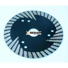 Good Quality for Stone Blade 125mm Sinter Hot-pressed Segmented Bevel Cutting Blade supply to China Hong Kong Manufacturer