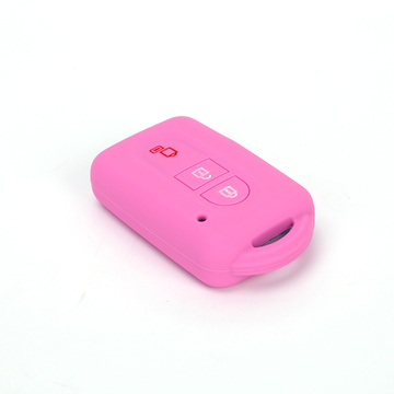 3 Button Nissan Colorful Silicone Rasti Key Car