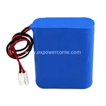18650 4S2P 14.8V 4400mAh Lithium Ion Battery