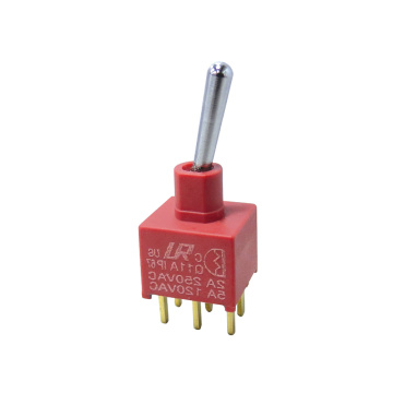 IP67 Waterproof Electrical Miniature Toggle Switch