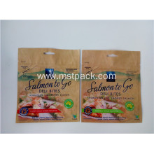 Customized for Stand Up Pouch With Zipper Plastic Print Packaging Bag with Euro Slot export to Italy Manufacturer