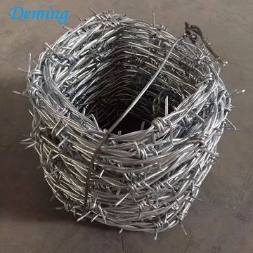 Factory Price 25kgs Galvanized Barbed Fencing Wire