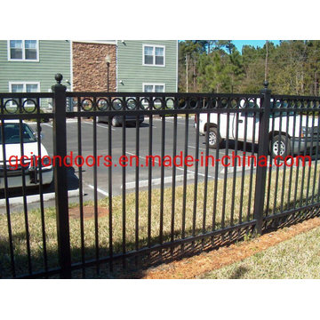 Cheap Swimming-Pool Iron Fencing with Steel Posts
