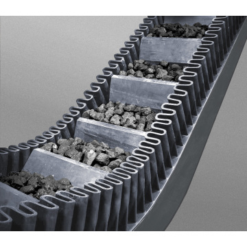 Best Quality for Corrugated Sidewall Conveyor Belt Conveyor Belt  With Sidewall supply to Reunion Supplier