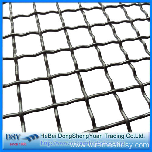Iron Wire Crimped Woven Mesh