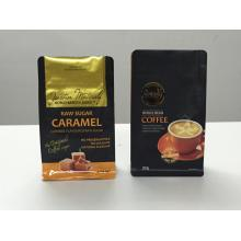 factory customized for Paper Coffee Bag Packaging, Paper Coffees, Paper Coffee Bag With Zipper from China Manufacturer Box Pouch with Pocket Zipper export to Portugal Manufacturer