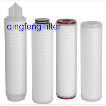 10′′PTFE  Filter Membrane Pleated Filter Cartridge