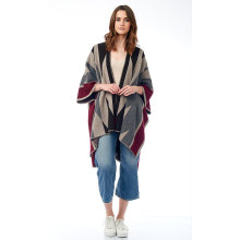 Reliable for China Women'S Cashmere Scarves,Women'S Cashmere Capes,Warm Cashmere Scarves Manufacturer and Supplier Merino Yak Knitted Poncho supply to Peru Factory
