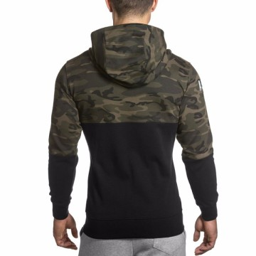 Fitness hoodies autumn gymwear mens pullover hoodies