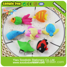 Sea Fish Shaped Eraser,Cheaper gift toy eraser for kid
