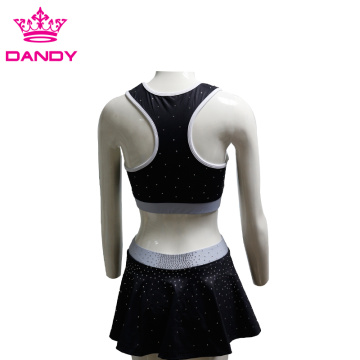 Custom Sublimated Cheerleader Costume For Kids