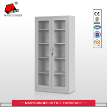 Metal Storage Cupboard Glass Door