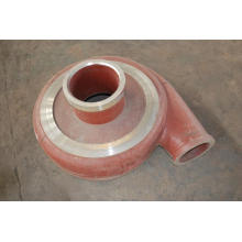 Slurry pump sheath rear