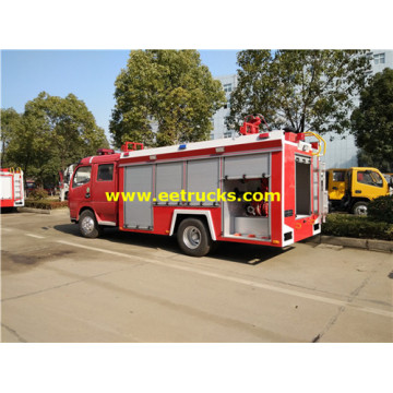 4 CBM 4x2 Customize Fire Fighting Trucks