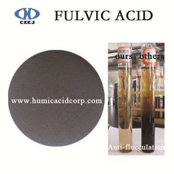 Factory Cheap price for Fulvic Acid Mineral black fulvic acid fulvate for agriculture export to Philippines Factory