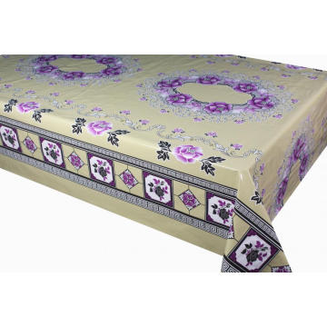 Elegant Tablecloth with Non woven backing in Bulk
