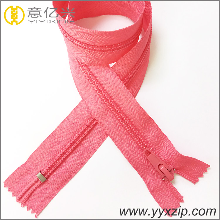 Nylon Shoes Zipper