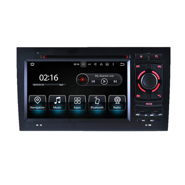 Interface de Vídeo de Áudio de 7 polegadas para Audi A4 / S4 / RS4 (2008-2008)
