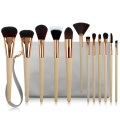 12PC Professionell Make-up Brush Kollektioun