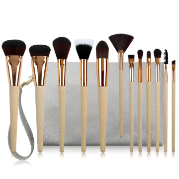 12PC professionelle Make-up-Pinsel-Kollektion
