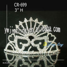 Wholesale Rhinestone Small Crowns And Tiaras