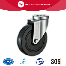 Rubber Bolt Hole Swivel Industrial Caster