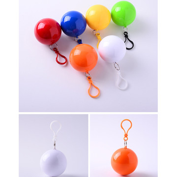 wholesale travelling disaposable ball  rain poncho
