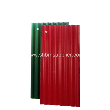 PET Membrane MgO Anti-corrosion Insulating Roofing Sheets