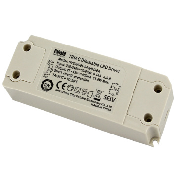 Luz de teto conduzida dimmable do motorista de 20W 500mA Triac