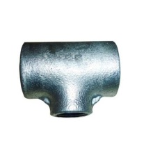 China for Malleable Iron Pipe Fittings Plain Type Malleable Iron Pipe Fittings Tee supply to India Wholesale