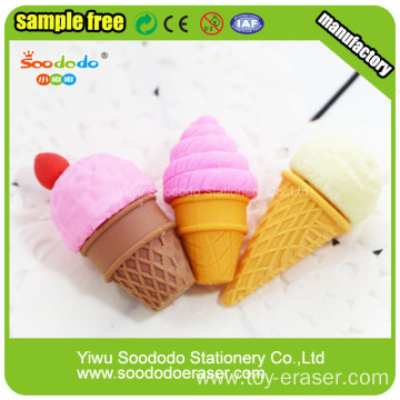 3D Cup Cake Shaped Eraser