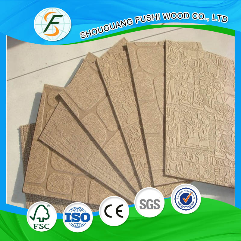 High Quality 2.5mm Decorative Hardboard Panels