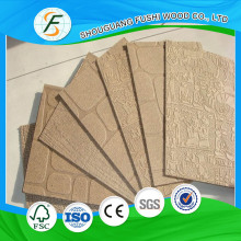 Good Quality 4 ×8 Embossed Hardboard