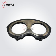 Leading for Ball Cup Sany Concrete Pump Spare Parts Wear Spectacle Plate export to Bermuda Manufacturer