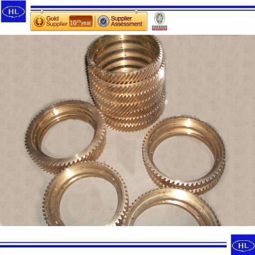 Top for CNC Milling Parts Alfa Laval Seperator Spare Parts Copper Gear supply to Equatorial Guinea Factories