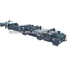Customized for Folder gluer,Folder gluer direct from China Manufacturer ZX-1400BFT Automatic Crash Bottom Folder Gluer Machine export to Brunei Darussalam Wholesale