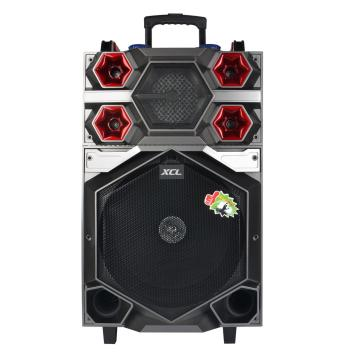 Line array active speaker with rechargeable battery