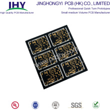 "Factory selling for Custom PCB Prototype Black ENIG 1u"" PCB Prototype export to Indonesia Manufacturer"