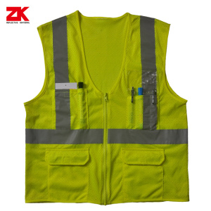 Best-Selling for Multi Pocket Safety Vest Good quality and cheap Hi-viz safety clothes supply to Haiti Importers