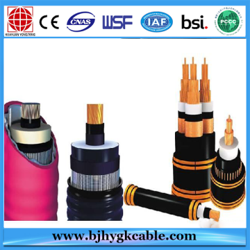 Single Core Copper Conductor Middle Voltage Electric Cable