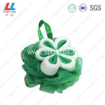 Smooth dead skin removal sponge mesh ball