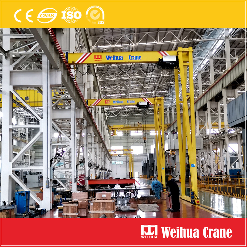 Europe Standard Semi Gantry Crane