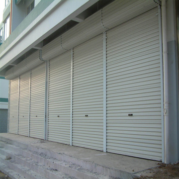 Good Quality for Color Steel Aluminum Roller Shutter Door Commercial Aluminum Alloy Roller Shutter Door supply to Iraq Manufacturers
