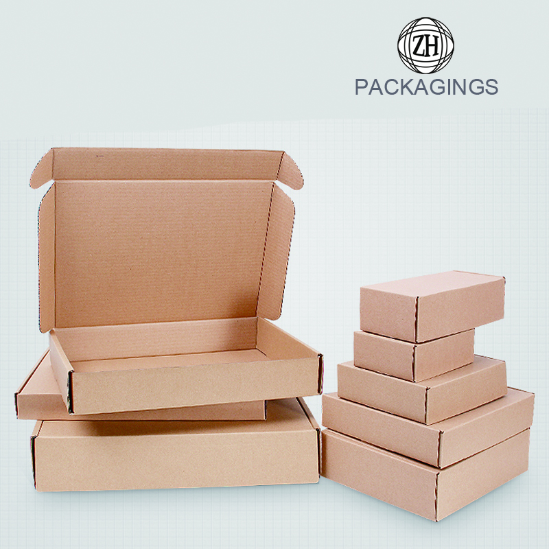 Wholesale different size shipping packaging boxes