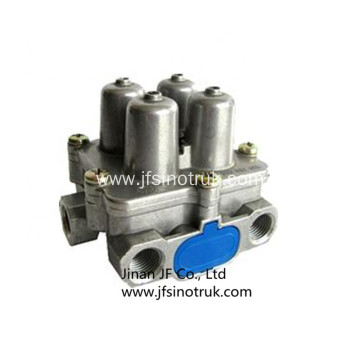 81.52151.6094 Four Circuit Protection Valve Shacman