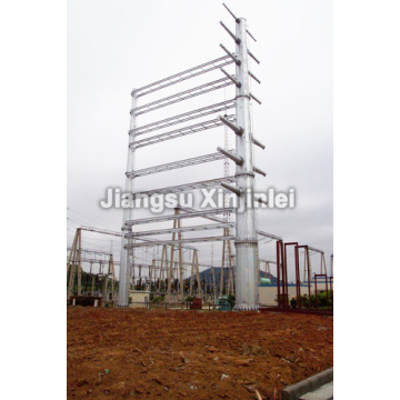 220kV Transmission Line Steel Tubular Pole
