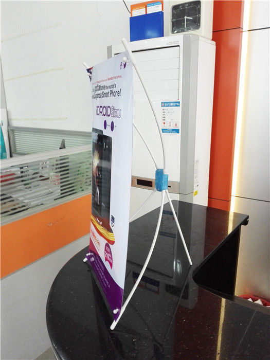 Table  Mini X Style Stand Banner