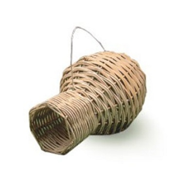 OEM/ODM for Wood Bird House Vase Shaped Medium Rattan Bird Nest export to Germany Manufacturers