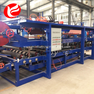 Sandwich panel steel wall sheet roll forming machine