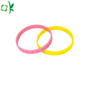 Eco-friendly Fashion Silicone Bracelet for Gift